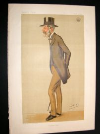 Vanity Fair Print 1893 Earl of Darnley, Spy Cartoon